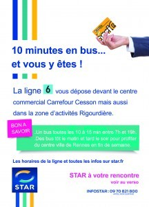 Carrefour photo centre commercial carrefour rennes cesson - Centre commercial cesson ...